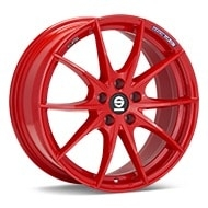 Sparco Trofeo 5 Red Painted Wheels