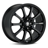 Sparco Drift Black Painted Wheels