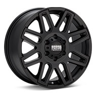 Sport Terrain Dune 6-lug Black Painted Wheels