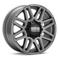 Sport Terrain Dune 8-lug Light Grey Painted Wheels