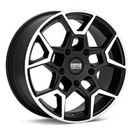 Sport Terrain Oasis 5-lug Machined w/Black Accent Wheels