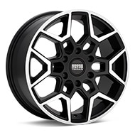 Sport Terrain Oasis 6-lug Machined w/Black Accent Wheels