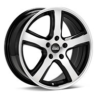 Sport Tuning T5 Machined w/Black Accent Wheels