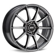 Sport Edition A10-2 Dark Silver Paint Wheels