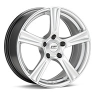 Sport Edition A12 Bright Silver Paint Wheels
