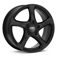 Sport Edition Cup 4 Black Painted Wheels