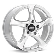 Sport Edition Cup 4 Silver Painted Wheels