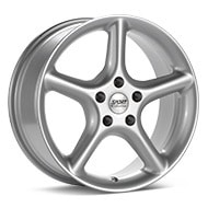 Sport Edition F5 Silver Painted Wheels