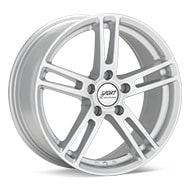 Sport Edition P2 Bright Silver Paint Wheels