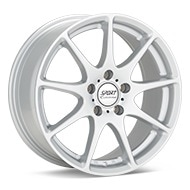 Sport Edition P5 Bright Silver Paint Wheels
