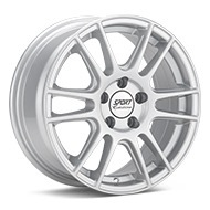 Sport Edition P8 Silver Painted Wheels