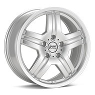 Sport Edition WX5 Bright Silver Paint Wheels