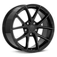Sport Muscle SM18 Gloss Black Painted Wheels