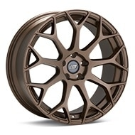Sport Muscle SM1 Matte Bronze Painted Wheels