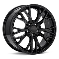 Sport Muscle SM22 Gloss Black Painted Wheels
