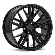 Sport Muscle SM28 Gloss Black Painted Wheels
