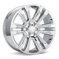 Sport Muscle SM72 Chrome Plated Wheels