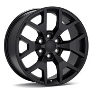Sport Muscle V76 Black Painted Wheels