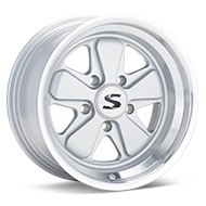 Starke Design SC16 Silver w/Machined Lip Wheels