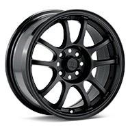 TRMotorsport C1 Black Painted Wheels