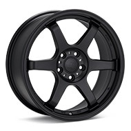 TRMotorsport C4 Black Painted Wheels