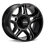 Ultra Armageddon 8-Lug Machined w/Black Accent Wheels