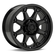 Ultra Bolt Black Painted Wheels
