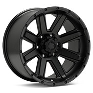 Ultra Crusher Black Painted Wheels