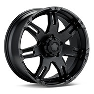 Ultra Gauntlet Black Painted Wheels