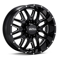 Ultra Hunter Black w/Milled Accent Wheels
