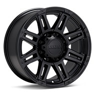 Ultra Machine Black Painted Wheels