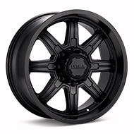 Ultra Menace 8-Lug Black Painted Wheels