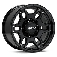 Ultra Mongoose Black Painted Wheels