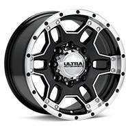 Ultra Mongoose Machined w/Black Accent Wheels