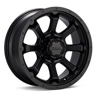 Ultra Nemesis 8-Lug Black Painted Wheels