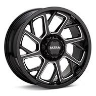 Ultra Patriot Gloss Black w/Milled Accent Wheels