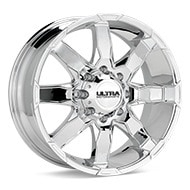 Ultra Phantom Chrome Plated Wheels