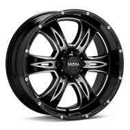 Ultra Predator II 6-Spoke Black w/Milled Accent Wheels