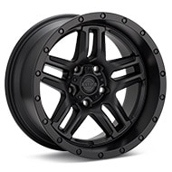 Ultra Prowler Jeep Black Painted Wheels