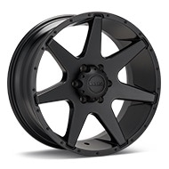 Ultra Tempest Black Painted Wheels