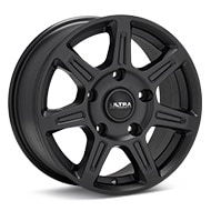 Ultra Toil Black Painted Wheels