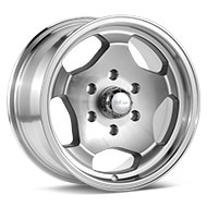 Ultra Type 5051 Silver Machined w/Clearcoat Wheels