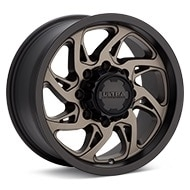 Ultra Villain 8-Lug Bronze w/Black Lip Wheels