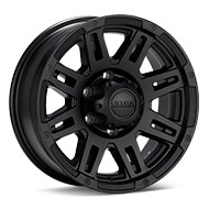 Ultra Trailer Machine Black Painted Wheels