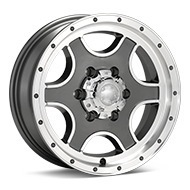 Ultra Trailer Nomad Machined w/Anthracite Accent Wheels