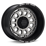 Ultra Motorsports Xtreme X111 Grey w/Black Lip Wheels