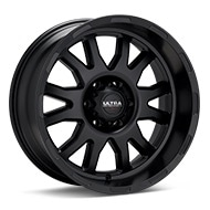Ultra Motorsports Xtreme X108 Black Painted Wheels