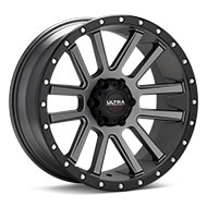 Ultra Motorsports Xtreme X107 Anthracite w/Black Lip Wheels