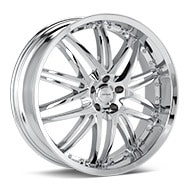 Verde Kaos Chrome Plated Wheels