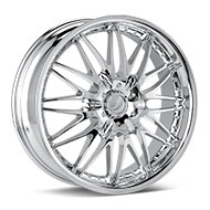 Verde Regency Chrome Plated Wheels